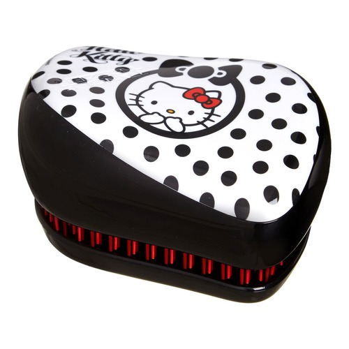 Tangle Teezer Расческа Compact Styler Hello Kitty Black. Доставка по России