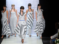 ХакаМа. Mercedes-Benz Fashion Week Russia весна-лето 2012