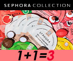 Акция 1+1=3 на тканевые маски COLORFUL от SEPHORA COLLECTION