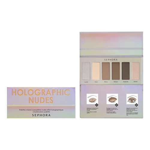 SEPHORA COLLECTION Holographic Nudes Palette Палетка теней