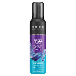 Frizz Ease Mousse for perfect curls