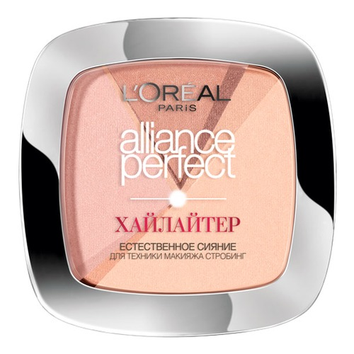 L'Oreal Paris Alliance Perfect Пудра-хайлайтер 102D Золотой amsterdam city map