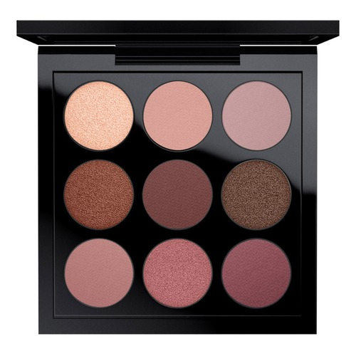 MAC EYE SHADOW BURGUNDY TIMES NINE X9 Палетка теней