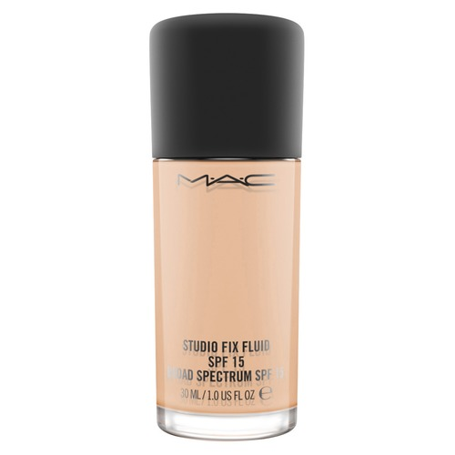 MAC STUDIO FIX FLUID FOUNDATION Тональная основа SPF15 NC25 тональная основа mac cosmetics studio waterweight spf30 foundation nc25 цвет nc25 variant hex name f4c4a2