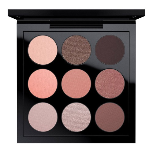 MAC EYE SHADOW DUSKY ROSE TIMES NINE X9 Палетка теней EYE SHADOW DUSKY ROSE TIMES NINE X9 Палетка теней набор кистей для теней the saem shadow tips