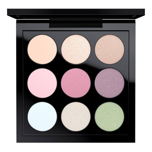 MAC EYE SHADOW PASTEL TIMES NINE X9 Палетка теней EYE SHADOW PASTEL TIMES NINE X9 Палетка теней sleek makeup палетка теней quattro eye shadow 2 оттенка палетка теней quattro eye shadow midnight blues тон 332