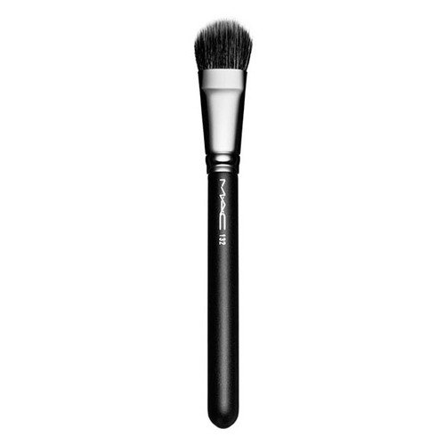 MAC DUO FIBRE FOUNDATION BRUSH №132 Кисть для тонального средства DUO FIBRE FOUNDATION BRUSH №132 Кисть для тонального средства professional makeup brushes set comestic powder foundation blush eyeshadow eyeliner lip beauty make up brush tools 18 pcs