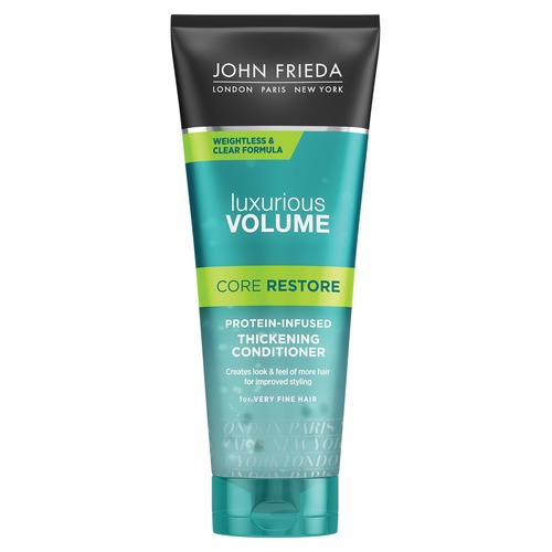 John Frieda Luxurious Volume Core Restore Прозрачный кондиционер с протеином Luxurious Volume Core Restore Прозрачный кондиционер с протеином ruize vintage diary thick notebook bible book leather agenda gold edge blank paper note book office school supplies stationery