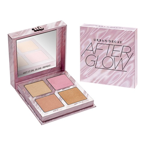 Urban Decay Afterglow Highlighter Palette П��летка хайлайтеров Afterglow Highlighter Palette Палетка хайлайтеров напольная акустика monitor audio bronze 6 black oak уценённый товар