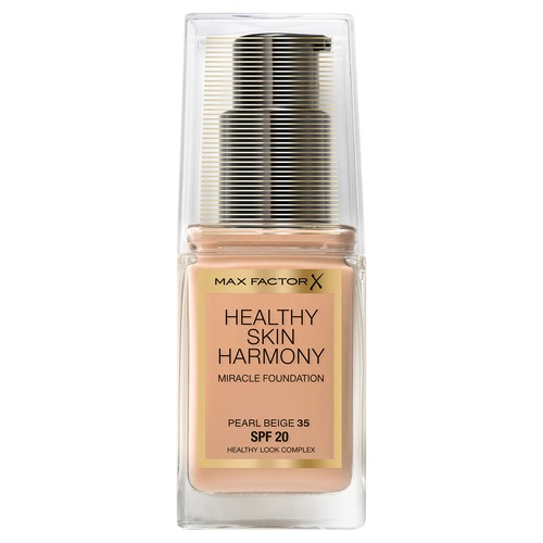Max Factor Healthy Skin Harmony Miracle Foundation Тональная основа 55 beige тональная основа enprani daysys royal bee perfect cover foundation spf35 pa 21 цвет 21 light beige variant hex name f0d3b5