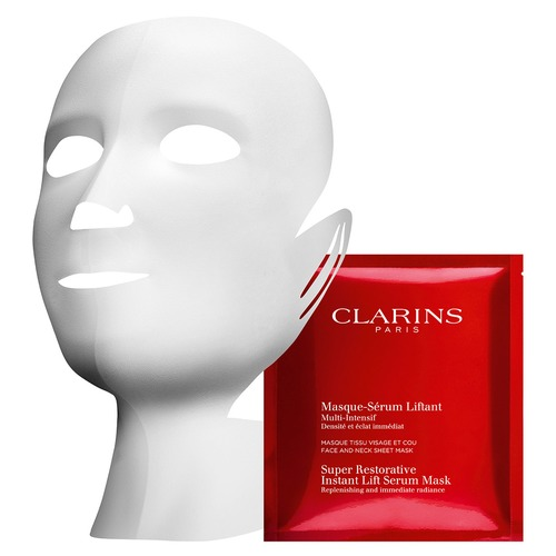 Clarins Multi-Intensive Восстанавливающая тканевая маска с эффектом лифтинга