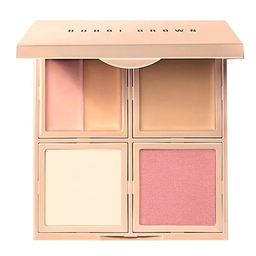 Bobbi Brown Face Palette Палетка для макияжа лица 5 в 1 01 Porcelain бронзеры artdeco палетка бронзеров most wanted bronzing palette 1 3 5 2 гр