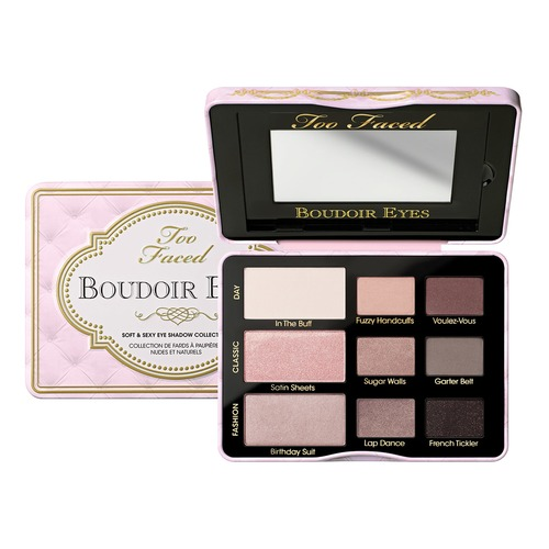 Too Faced BOUDOIR EYES Палетка теней BOUDOIR EYES Палетка теней too faced matte chocolate chip палетка матовых теней matte chocolate chip палетка матовых теней