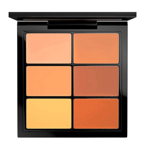 MAC PRO CONCEAL AND CORRECT PALETTE DEEP Палетка для коррекции лица PRO CONCEAL AND CORRECT PALETTE DEEP Палетка для коррекции лица mac splash and last pro longwear powder устойчивая компактная пудра dark tan