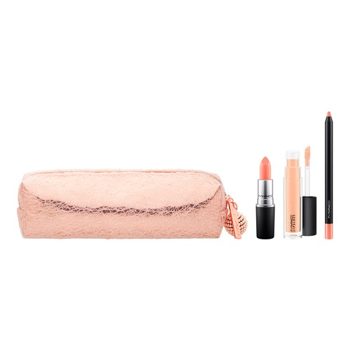 все цены на MAC SNOW BALL LIP BAG NUDE Набор для губ SNOW BALL LIP BAG NUDE Набор для губ