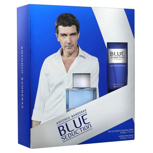 Antonio Banderas Blue Seduction Man Набор Blue Seduction Man Набор antonio banderas blue seduction man дезодорант спрей blue seduction man дезодорант спрей