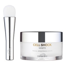 CELL SHOCK WHITE HD Осветляющая освежающая маска