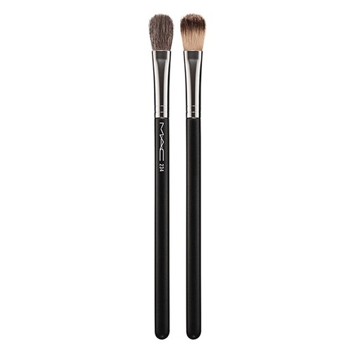 MAC SPLIT FIBRE EYE BLENDING BRUSH №234 Кисть SPLIT FIBRE EYE BLENDING BRUSH №234 Кисть c29 professional makeup brushes squirrel sokouhou goat hair eye shadow blending brush white black handle cosmetic make up brush