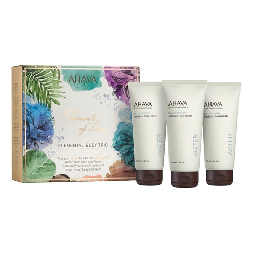 AHAVA DEADSEA WATER BODY TRIO Набор DEADSEA WATER BODY TRIO Набор масла ahava deadsea plants сухое масло для тела опунция и моринга 100 мл