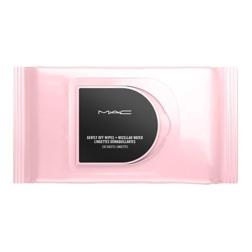 MAC GENTLY OFF WIPES + MICELLAR WATER Салфетки для снятия макияжа GENTLY OFF WIPES + MICELLAR WATER Салфетки для снятия макияжа салфетки pupa sport addicted deodorant wipes ready to go freshness 15 шт