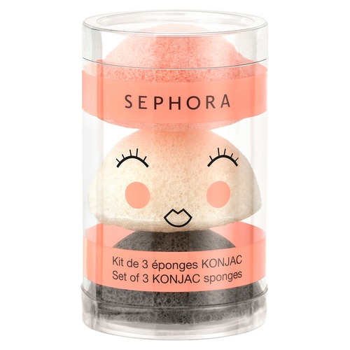 SEPHORA COLLECTION Konjac Набор мини-спонжей Konjac Набор мини-спонжей