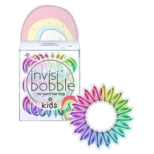 Invisibobble Kids Magic Rainbow Резинка-браслет для волос Kids Magic Rainbow Резинка-браслет для волос free shipping rainbow silk production 1 6m 1 4m magic trick accessories stage magic props close up