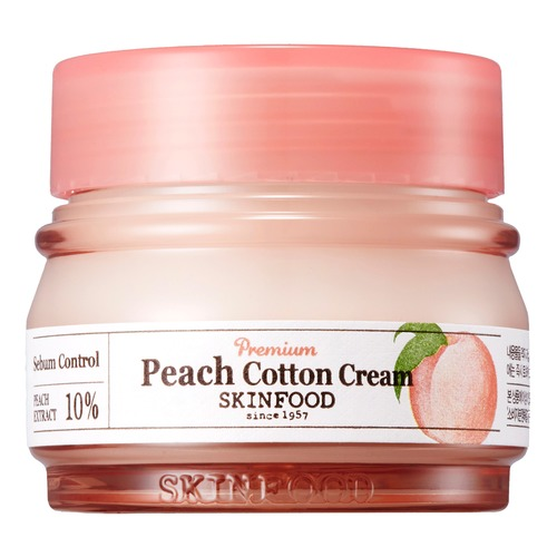 SKINFOOD PEACH COTTON Крем для лица PEACH COTTON Крем для лица skinfood royal honey крем для лица royal honey крем для лица
