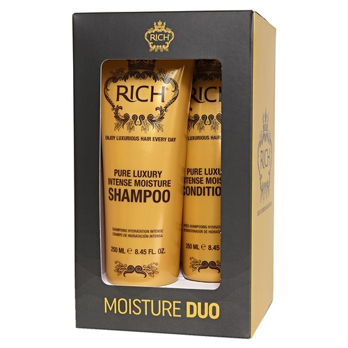 Rich Набор Moisture Duo Набор Moisture Duo brow shaper duo ebony duo цвет ebony duo variant hex name 443630