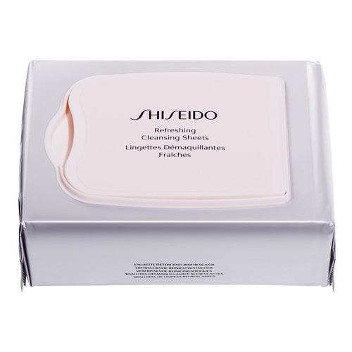 Shiseido Generic Skincare Освежающие очищающие салфетки Generic Skincare Освежающие очищающие салфетки kifit electric tummy abdominal slimming lose weight waist trainer fat belly burner fitness massage belt health care tool