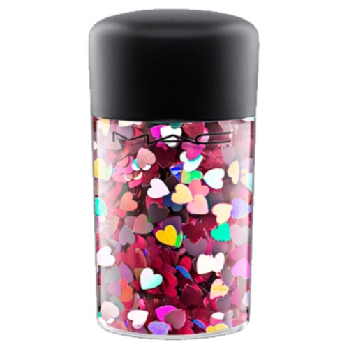 MAC GALACTIC GLITTER & GLOSS Рассыпчатые блестки Iridescent White lace decor iridescent backpack