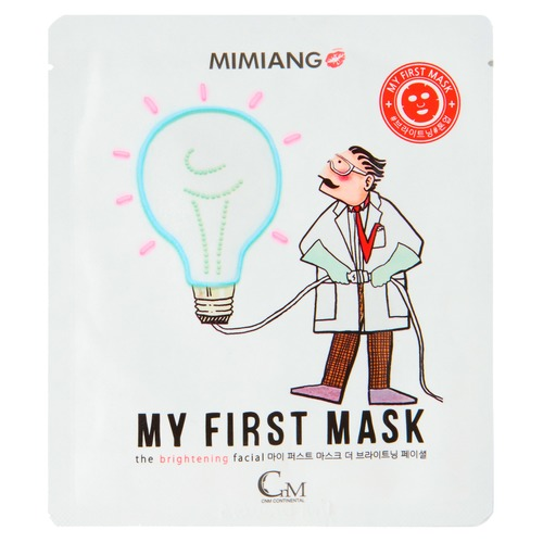 Mimiang My First Mask Маска для лица для сияния My First Mask Маска для лица для сияния mimiang my first mask маска для лица увлажняющая my first mask маска для лица увлажняющая