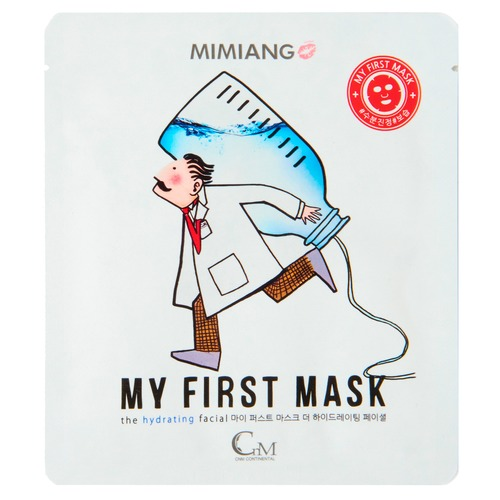 Mimiang My First Mask Маска для лица увлажняющая My First Mask Маска для лица увлажняющая my first color dominoes
