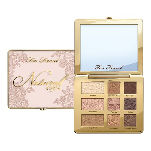 Too Faced Heaven too faced natural matte палетка матовых теней heaven