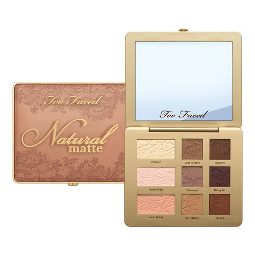 Too Faced NATURAL MATTE Палетка матовых теней Heaven