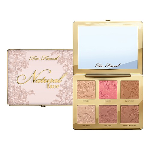 Too Faced NATURAL FACE Палетка для лица Starlight цена