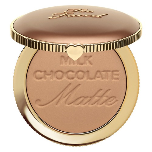 Too Faced Milk Chocolate too faced natural matte палетка матовых теней heaven