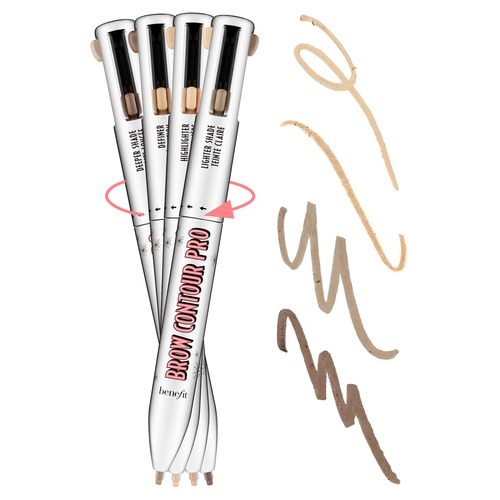 Benefit Brow Contour Pro Карандаш для бровей 4 в 1 2 - Коричневый светлый combo roller brush 1 hepa filter 5 for neato botvac 70e 75 80 85 robot vacuum cleaner parts replacement kit filter brush