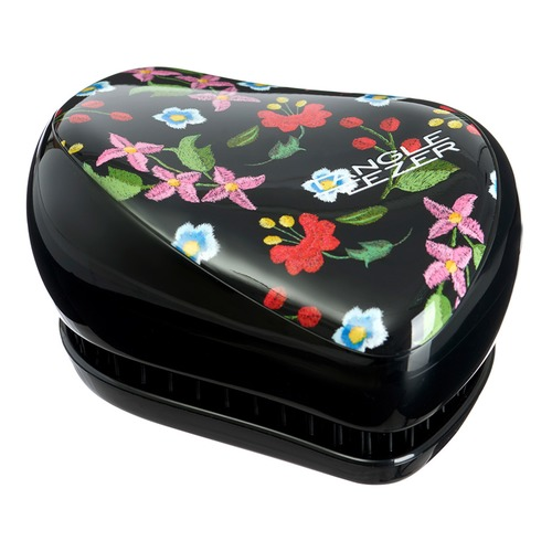 Tangle Teezer Расческа Compact Styler Embroidered Floral Расческа Compact Styler Embroidered Floral new travel backpack feminine korean women fashion backpack leisure student schoolbag black soft pu leather women bag 14ba31 9 2