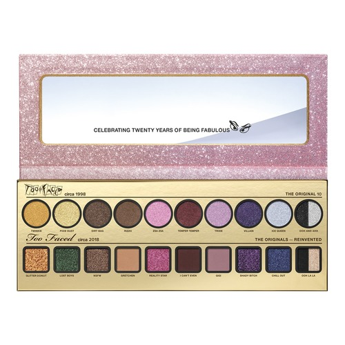 Too Faced THEN & NOW Палетка теней too faced natural matte палетка матовых теней heaven