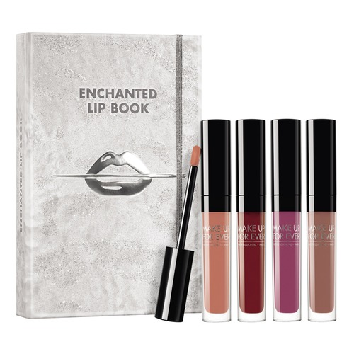 MAKE UP FOR EVER ENCHANTED LIP BOOK KIT Набор ENCHANTED LIP BOOK KIT Набор женская футболка real 2015 3d t harajuku rob b12