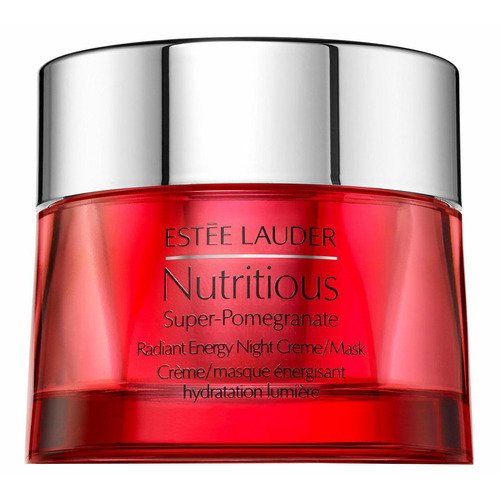 Estee Lauder Nutritious Super-Pomegranate Ночная крем-маска, придающая сияние estee lauder nutritious super pomegranate radiant energy night creme mask