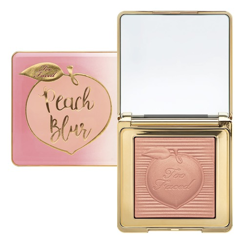 Too Faced PEACH BLUR Закрепляющая пудра PEACH BLUR Закрепляющая пудра пудра baviphat sugar girl peach sebum solution pact 02 цвет 02 natural beige variant hex name d3b198