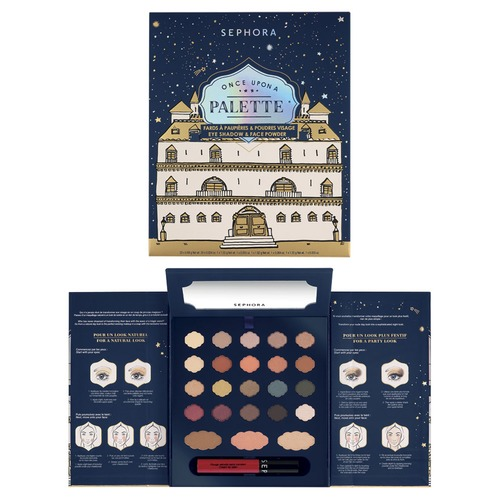 SEPHORA COLLECTION Once Upon A Night Once Upon A Palette Палетка для макияжа лица, глаз и губ Once Upon A Night Once Upon A Palette Палетка для макияжа лица, глаз и губ аксессуар чехол для apple iphone x ibox crystal silicone transparent