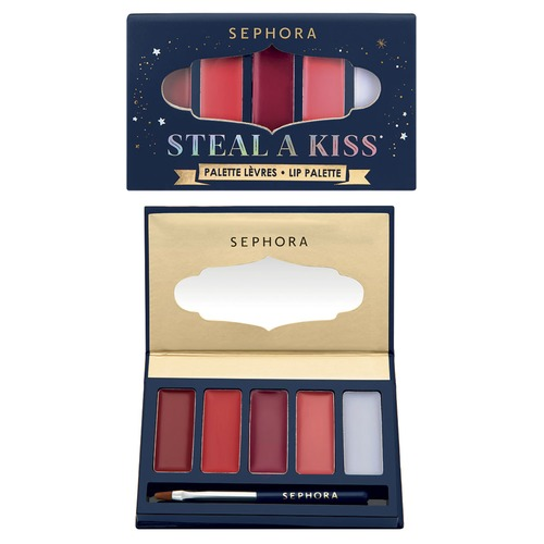 SEPHORA COLLECTION ONCE UPON A NIGHT STEAL A KISS Палетка для губ ONCE UPON A NIGHT STEAL A KISS Палетка для губ a christmas kiss