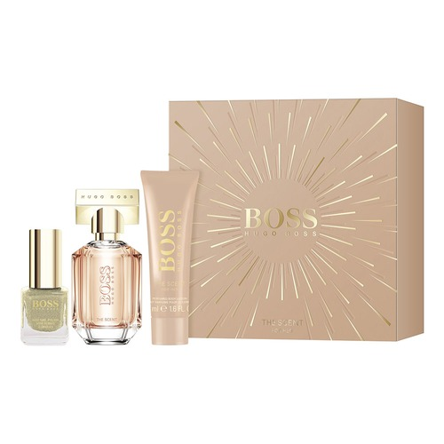Hugo Boss THE SCENT FOR HER Набор THE SCENT FOR HER Набор boss лосьон для тела the scent hugo boss boss лосьон для тела the scent
