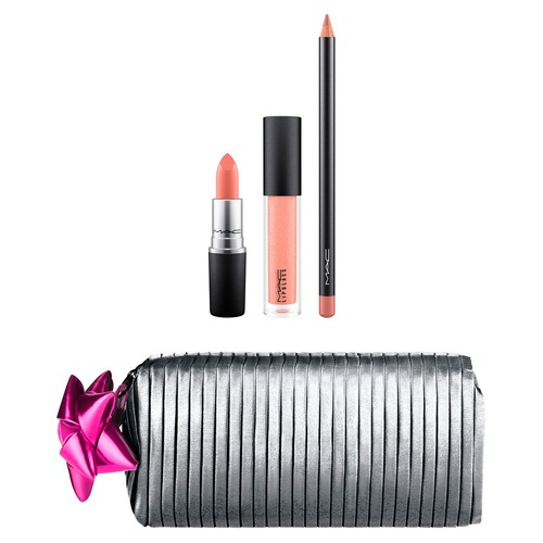 MAC SHINY PRETTY THINGS GOODY BAG: NUDE LIPS Набор для губ SHINY PRETTY THINGS GOODY BAG: NUDE LIPS Набор для губ помада flormar pretty pretty essential lipstick 028 цвет 028 plum variant hex name 5e2838