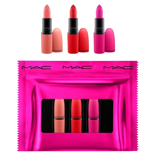 MAC SHINY PRETTY THINGS LIP TRIO KIT Набор для губ