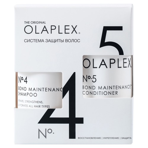 OLAPLEX Bond Maintenance System No.4-5 Набор Bond Maintenance System No.4-5 Набор ювелирный набор fashion no 1 18k