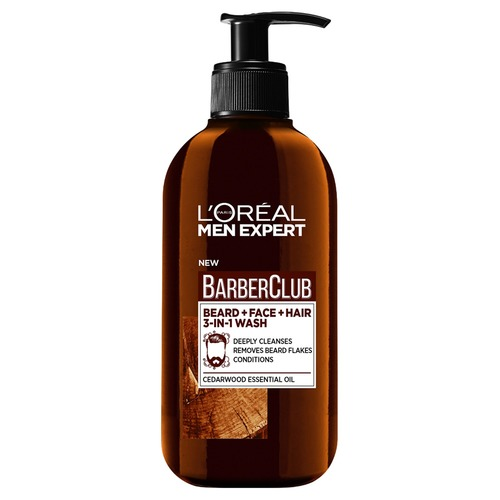 Фото - L'Oreal Paris Men Expert Barber Club Очищающий гель 3в1 для бороды, лица и волос Men Expert Barber Club Очищающий гель 3в1 для бороды, лица и волос 2018 new vintage men s messenger bags canvas shoulder bag fashion men business crossbody printing travel small handbag