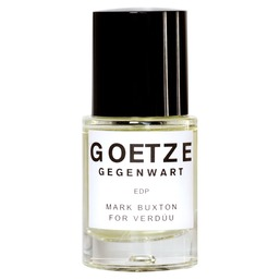 GOETZE GEGENWART - MARK BUXTON FOR VERDUU Парфюмерная вода